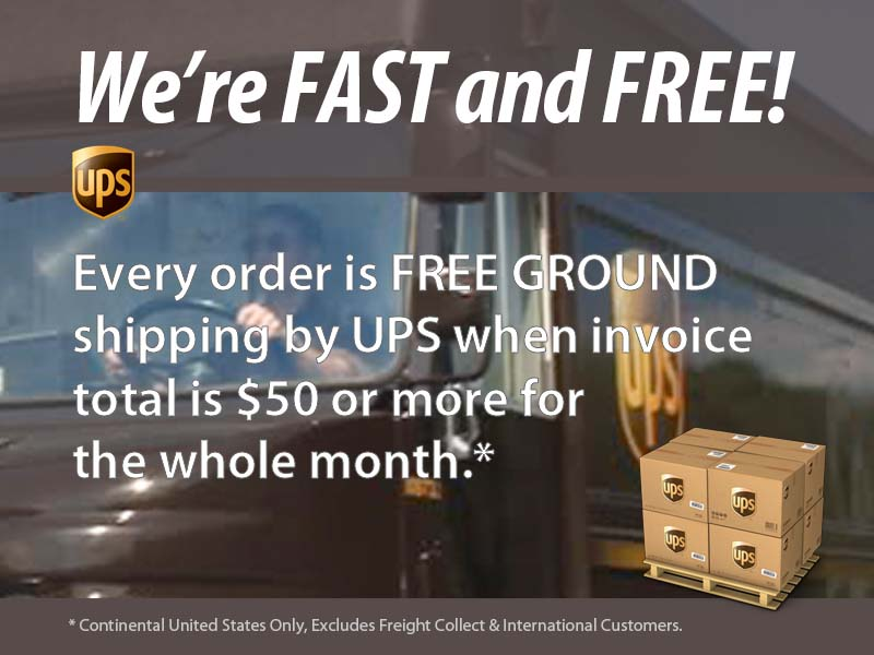 Free Shipping AIM by UPS