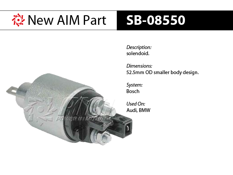 SB-08550 solenoid