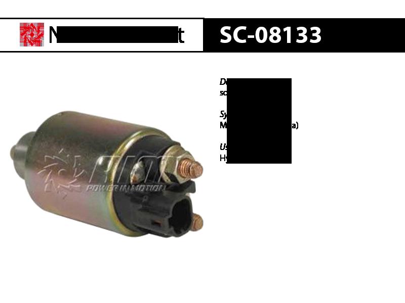 SC-08133 solenoid