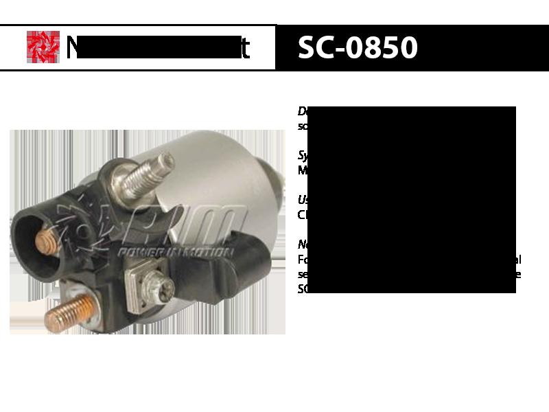 SC-0850 solenoid